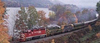 All Aboard! Daily Train Service from NY City to nearby Brattleboro VT