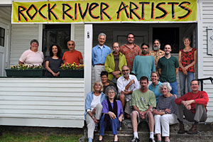 Rock River Artists Open Studio Tour Frog Meadow New England's Best All Male Gay Resort in Southern Vermont