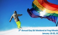 5th Annual Gay Ski Weekend at Frog Meadow! Jan 16-19