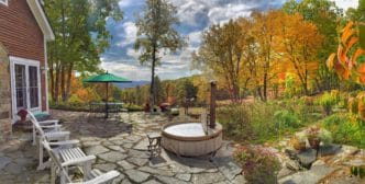 Fall Foliage leaf-peeping Frog Meadow New England's Best All Male Gay Resort in Southern Vermont