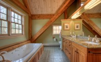 The Frog Meadow Suite's huge  bathroom