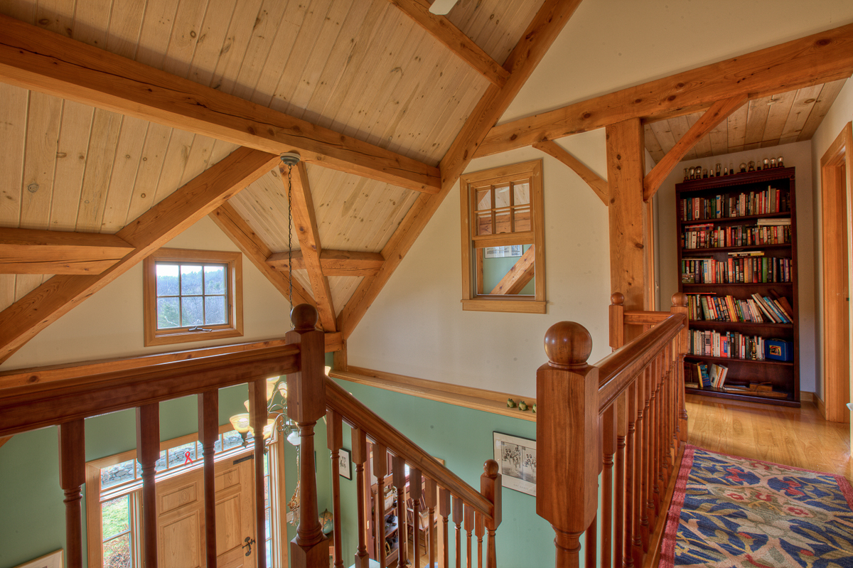 Two Story Foyer House : The main house s two story foyer vermont gay male rock