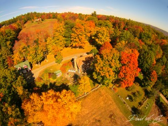 Early October 300 feet above Frog Meadow via drone!