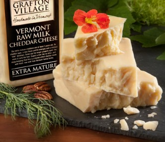 Expect a bite like no other with Grafton's 5-year aged cheddar. Some say it curls the toes!