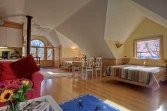 The Deluxe Barn Suite Frog Meadow New England's Best All Male Gay Resort in Southern Vermont