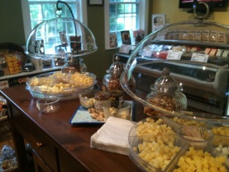 Enjoy cheese tastings every day at Grafton Village Cheese's two retail stores that sell their award-winning cheeses as well as other wonderful cheeses made in Vermont.