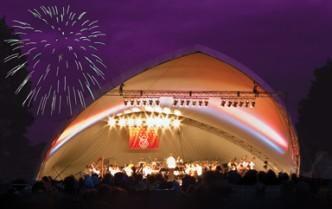 Gates open at 5:30pm for picnicking, concert starts at 7:30pm, Fireworks start at dusk!