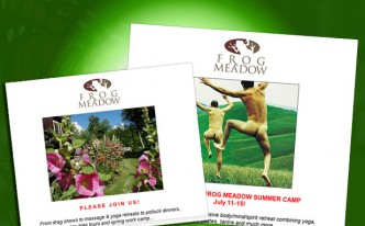 Newsletter sign-up Gay Retreats and Men's Workshops Frog Meadow New England's Best All Male Gay Resort in Southern Vermont