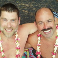 Scott & Dave hosts Frog Meadow New England's Best All Male Gay Resort in Southern Vermont