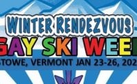 Winter Rendezvous Gay Ski Week, Stowe VT! January 23-26