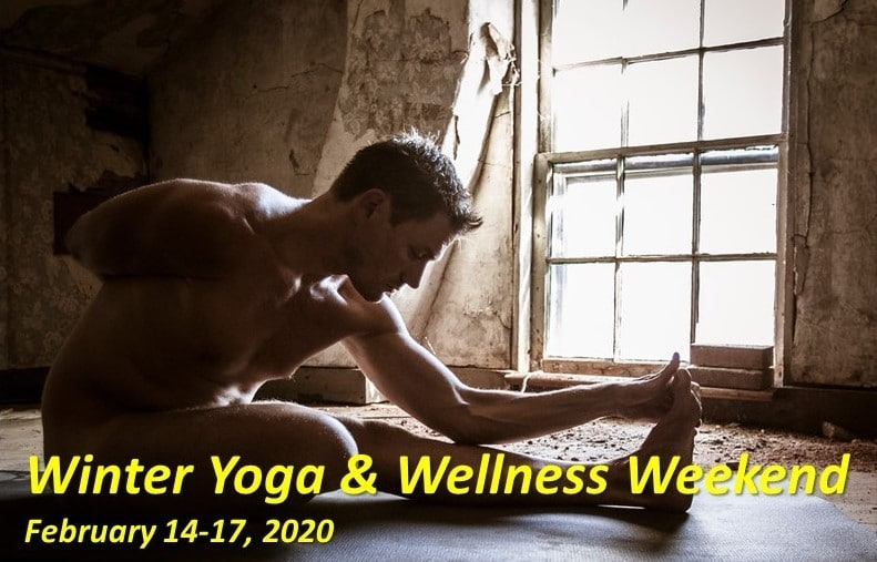 Winter Yoga & Wellness Weekend with Yogi Colby Smith Frog Meadow Oasis for Men Vermont